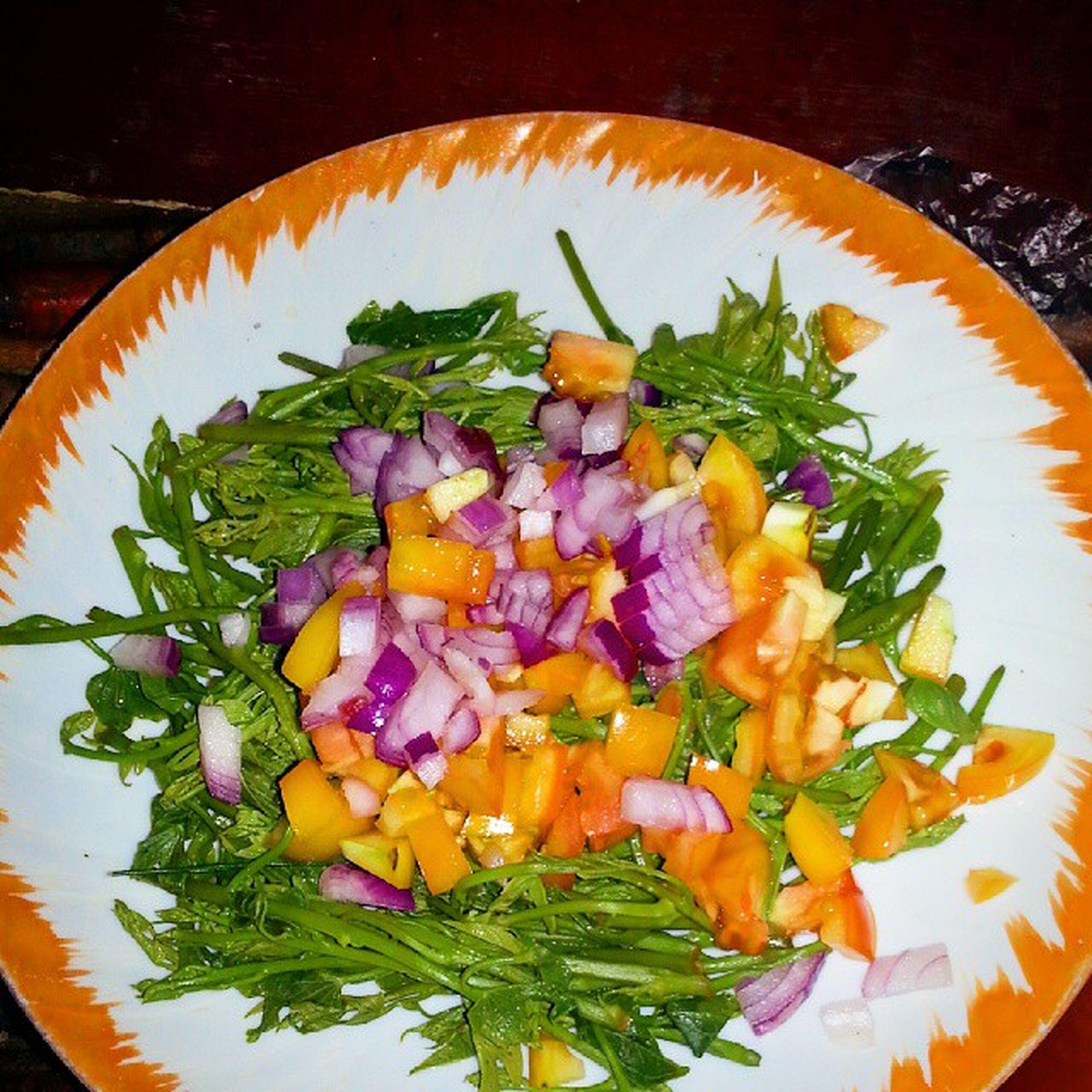 Salad for dinner! :) Solb Palungpalu