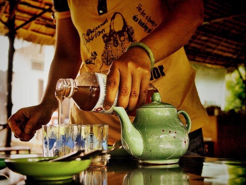 Vietnam MeCongDelta Tea Teapot Brunch Around The World Mealtimes Tantalize Your Tastebuds Up Close Street Photography Close-up Honey