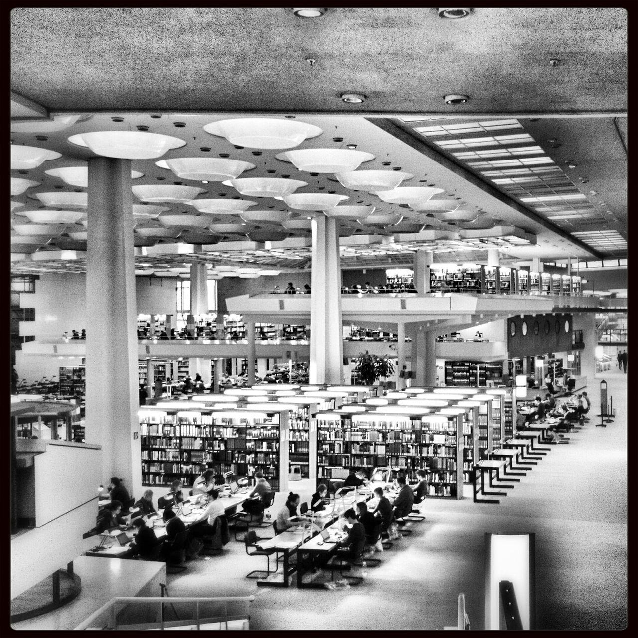 Lesesaal Berlin Architecture Architecture_bw Scharoun