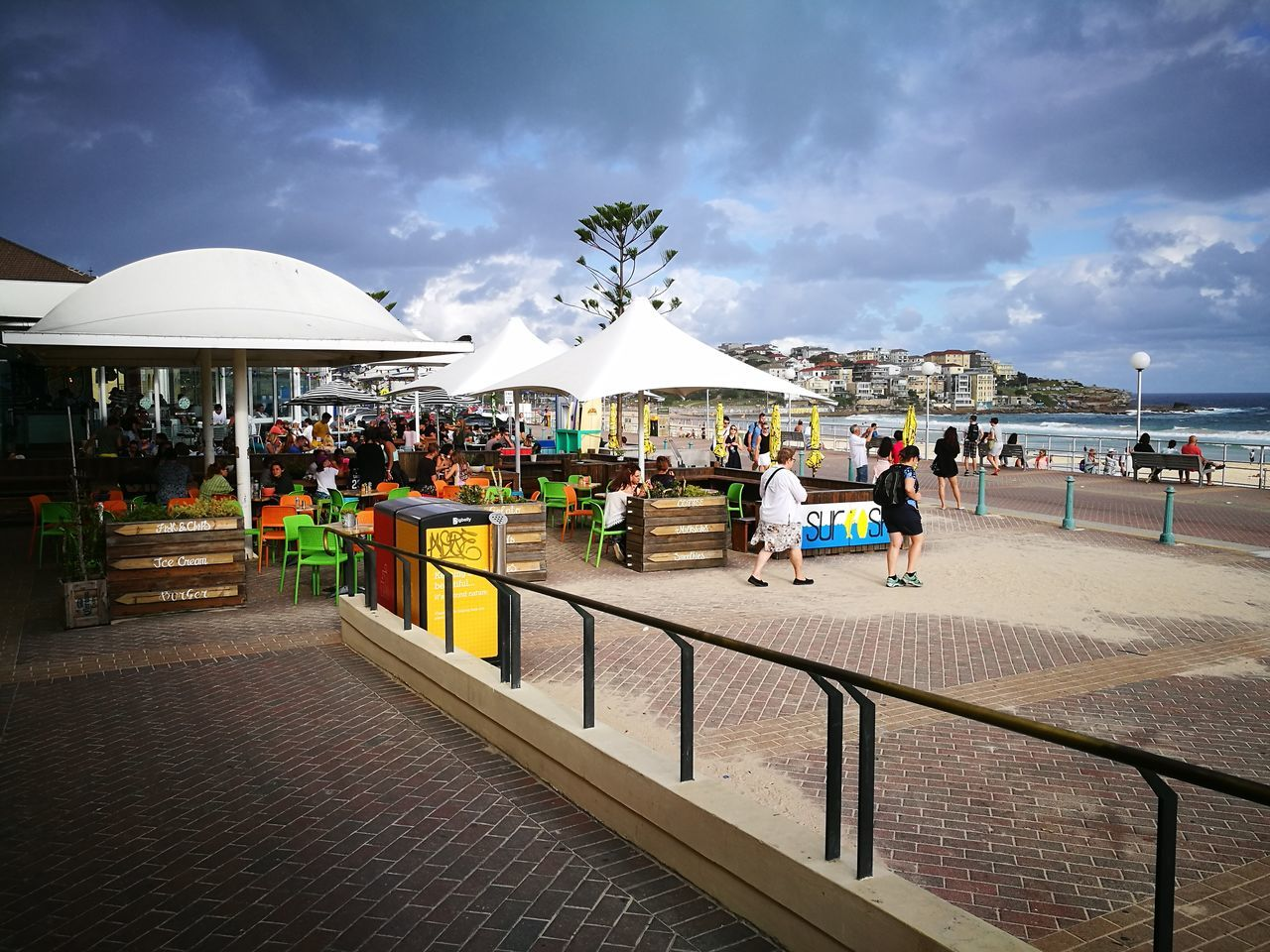 Mid summer day in Bondi Cloud - Sky Vacations Travel Destinations Sky Outdoors Nature Water Beauty In Nature Day