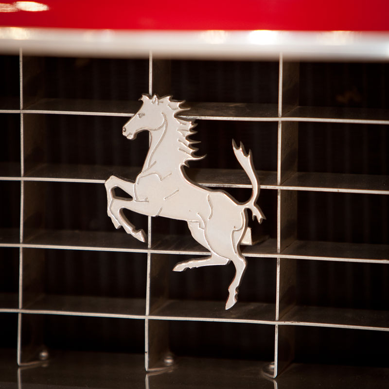 Ferrari Prancing horse logo Auto Automobile Automobile Industry Cars Close-up Ferrari Ferrari Logo Italian Logo Prancing Horse Rich Status Symbol Supercar Supercars Wealthy Wealthy Lifestyle