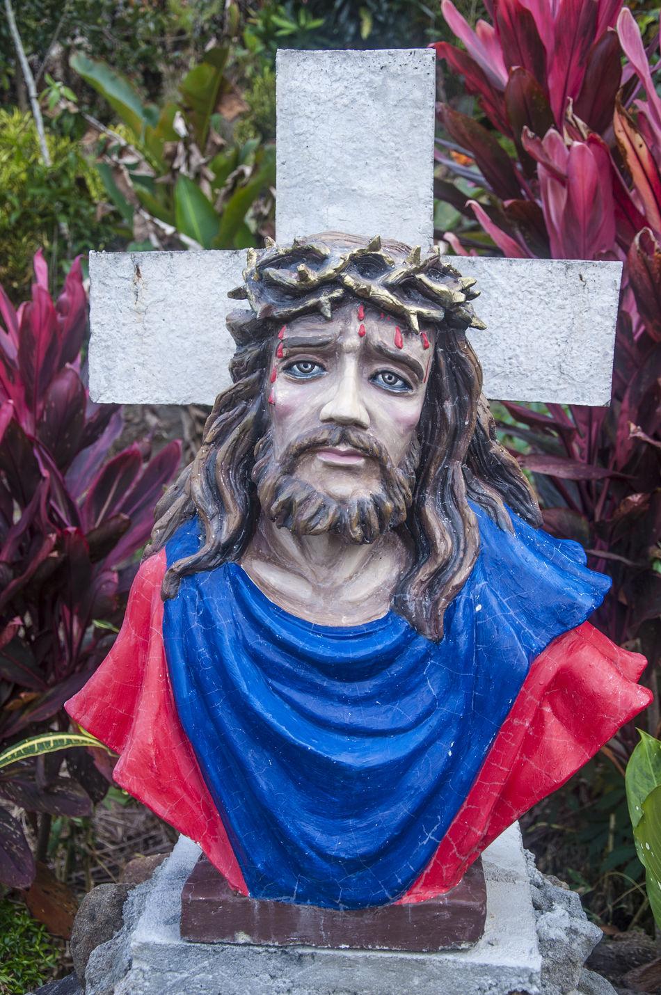 Catholic Faith Jesus Christ Negros Occidental Philippines Religion Religious Idol Son Of God Statue