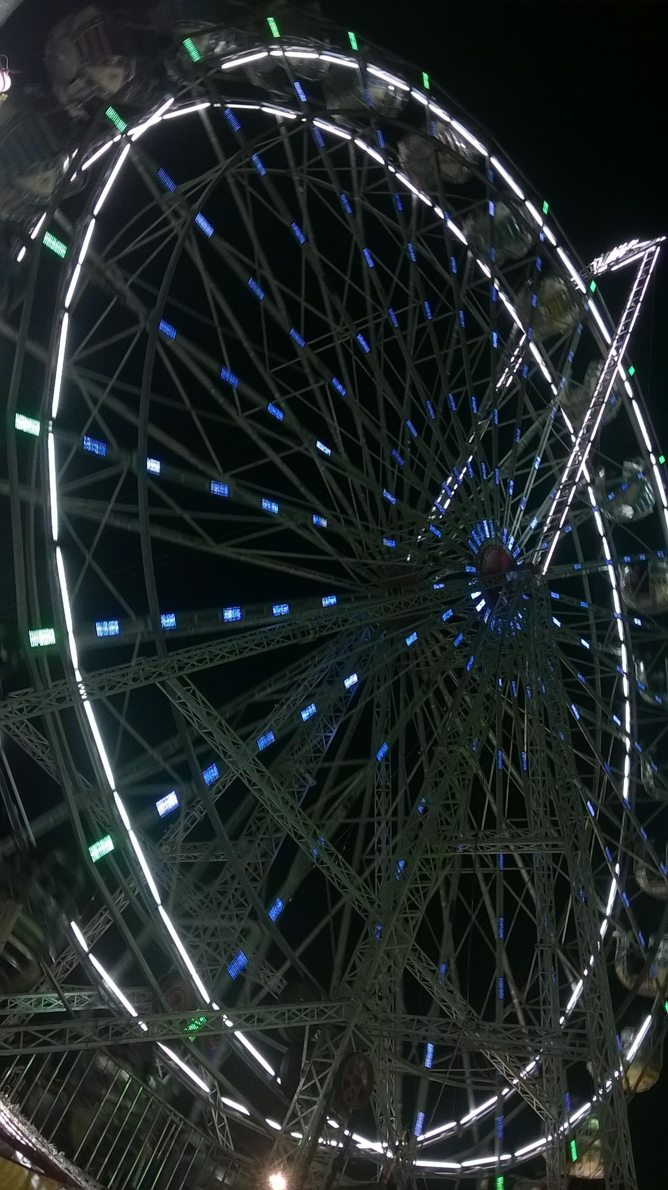 Merry-go-round Arts Culture And Entertainment Big Wheel Ferris Wheel Illuminated Night No People Outdoors Rash Mela Sky First Eyeem Photo