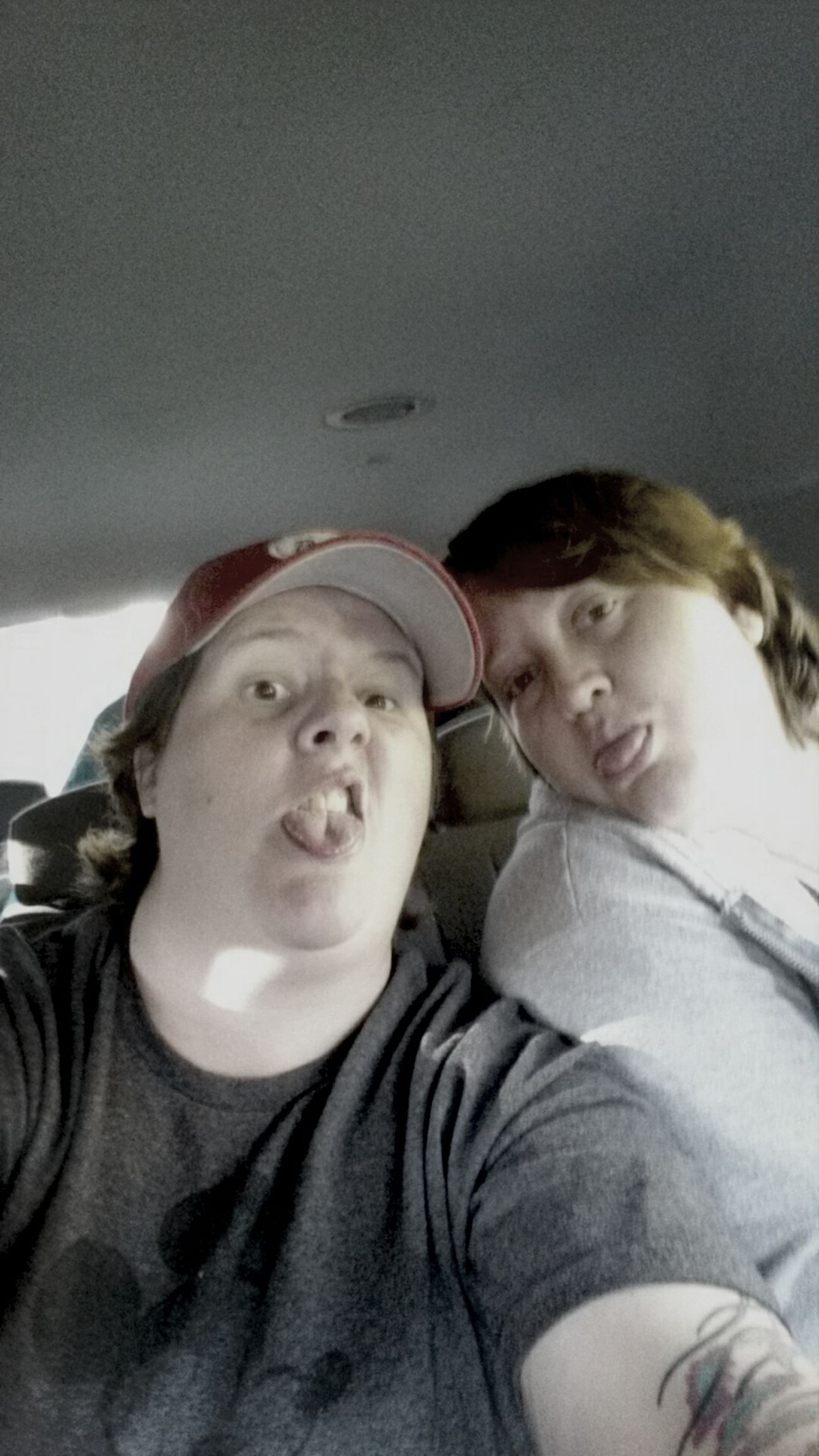 Car ride fun Cousins  Goofballs
