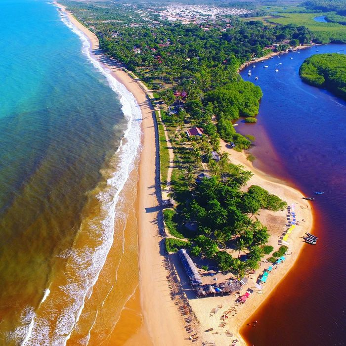 Aerial View Caraíva -Brazil River Vacations Seaview Drone Photography Beach Beauty In Nature Nature Landscape Aerial Shot Drone Shot The Week On EyeEm Lost In The Landscape Connected By Travel EyeEmNewHere Second Acts Perspectives On Nature