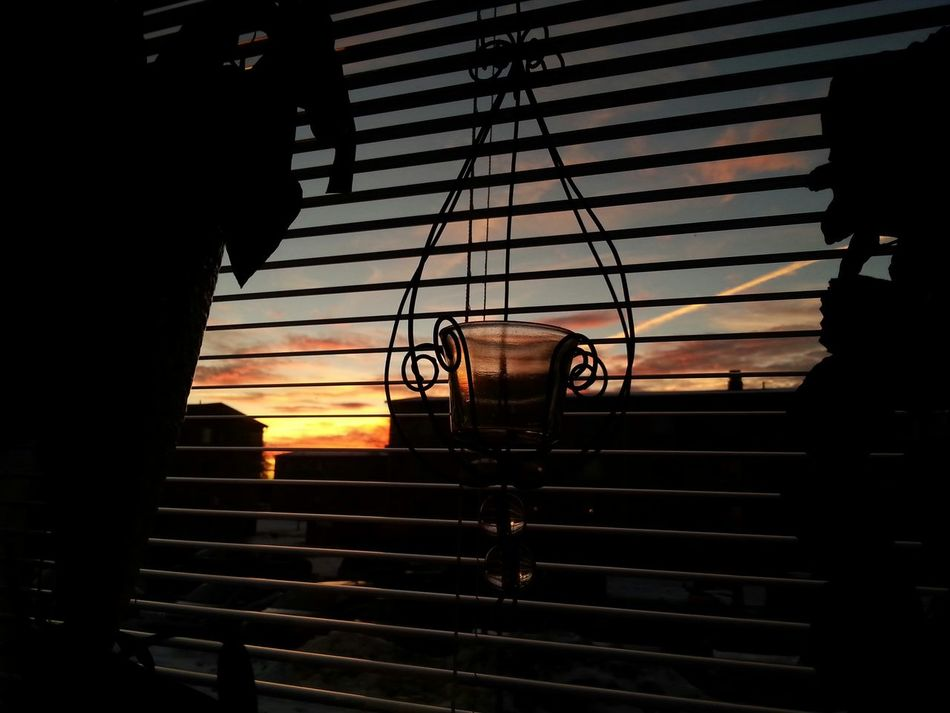 From my kitchen window I see the sunset..... From My Window Sunset_collection Heavenly Colors Sky And Clouds From My Point Of View Taking It All In