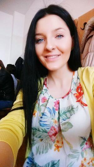 Flowers Goodmood Blue Eyes Sunny Day Smile Happy