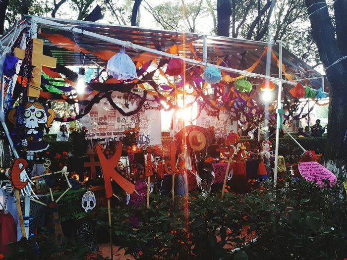Hanging Outdoors Day No People Altar De Muertos Tepotzotlan Dia De Muertos. Dıa De Muertos Dia De Muertos México DIA DE MUERTOS Catrinamakeup Catrinas Catrina Day Of The Dead Catrina Traditional Culture