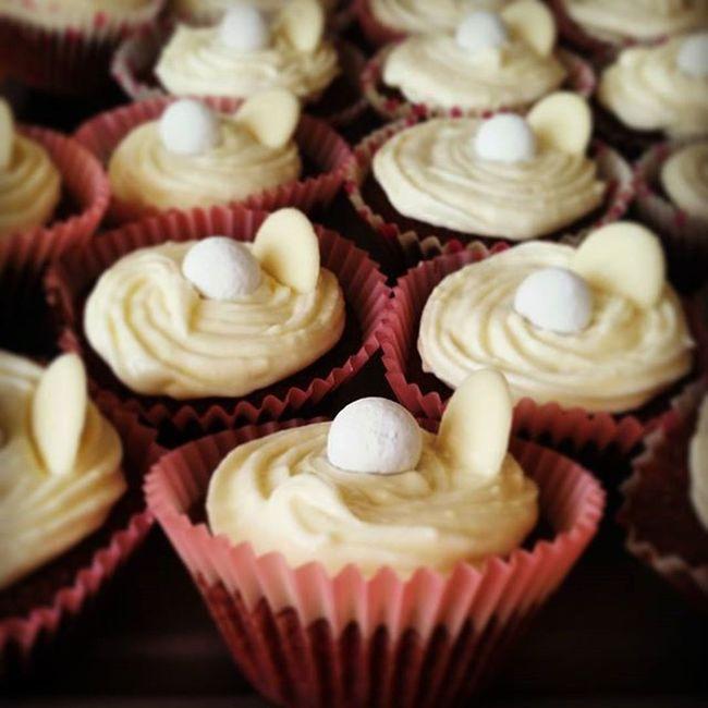My attempt at red velvet cupcakes 😊 Redvelvetcupcakes