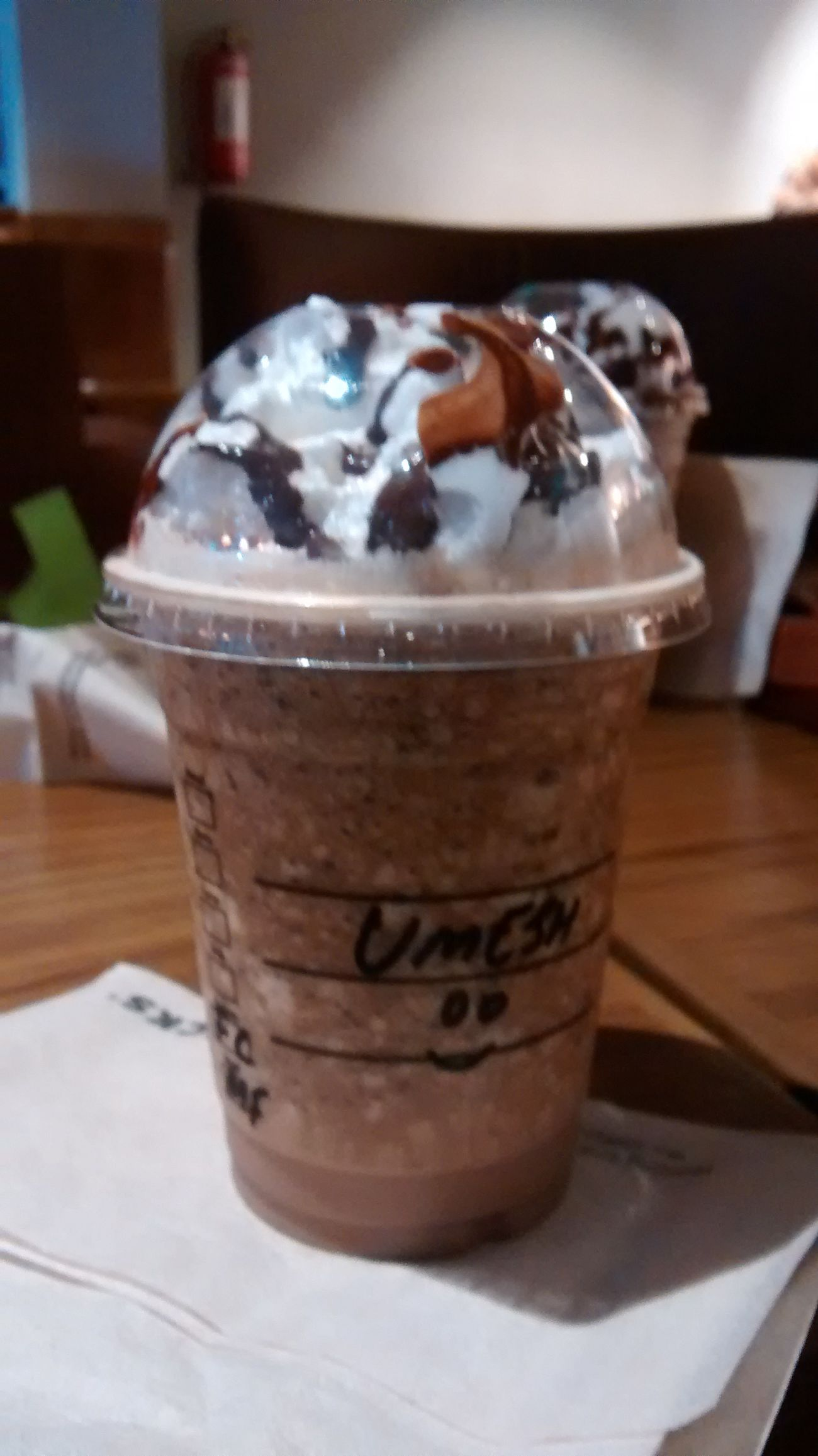The Starbucks baby .. ;) Food Starbucks Chocochip Bevrage