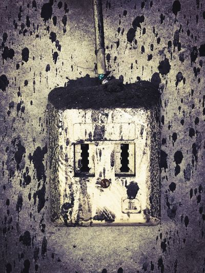 Old Telephone Wallplug