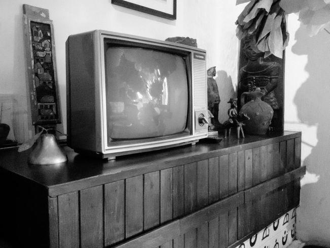 Retro Style Television Televisao Velharia