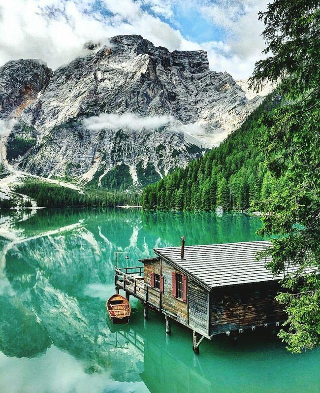 Lago Di Braies, Hi! , Mountainlove , Passion Photographer , Cheese! , Hello World , Eye4photography  , EyeEmBestPics
