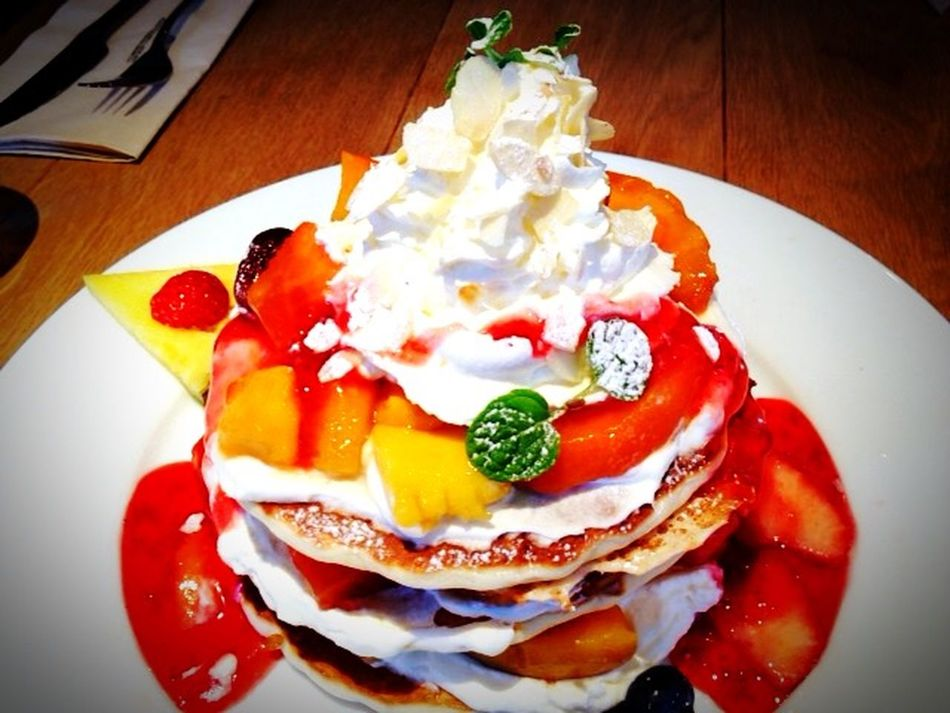 Pancakes Cafe Holiday Eating