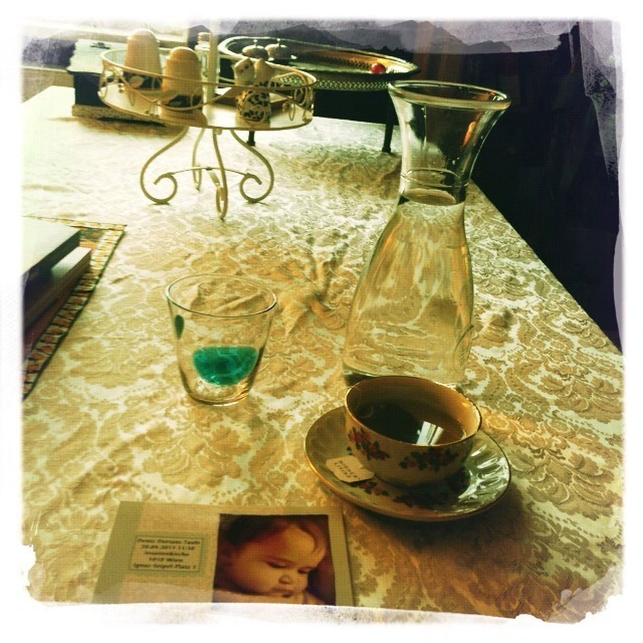Tea Hipstamatic It's Tea Time... Writing Invitations