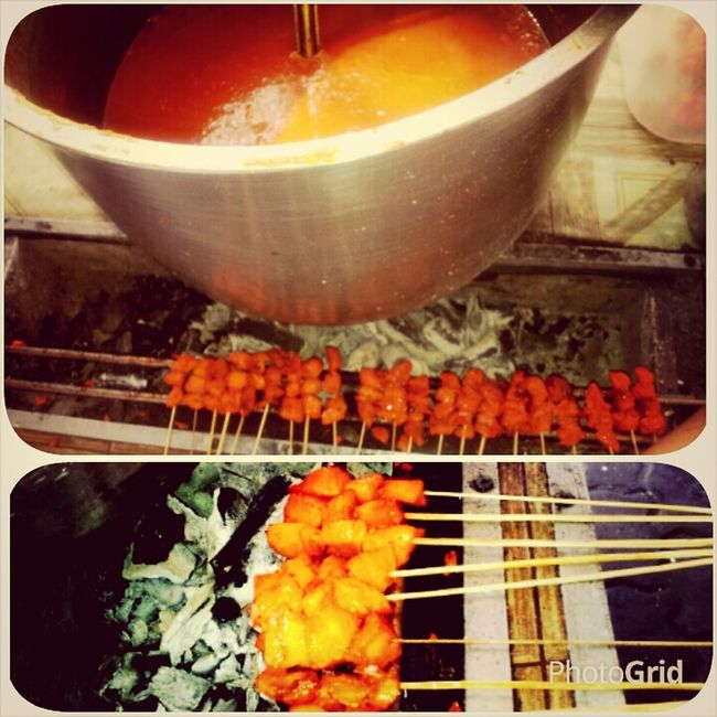 Satti TausugDish Indonesianfood SundayFamilyBreakfast Foodporn