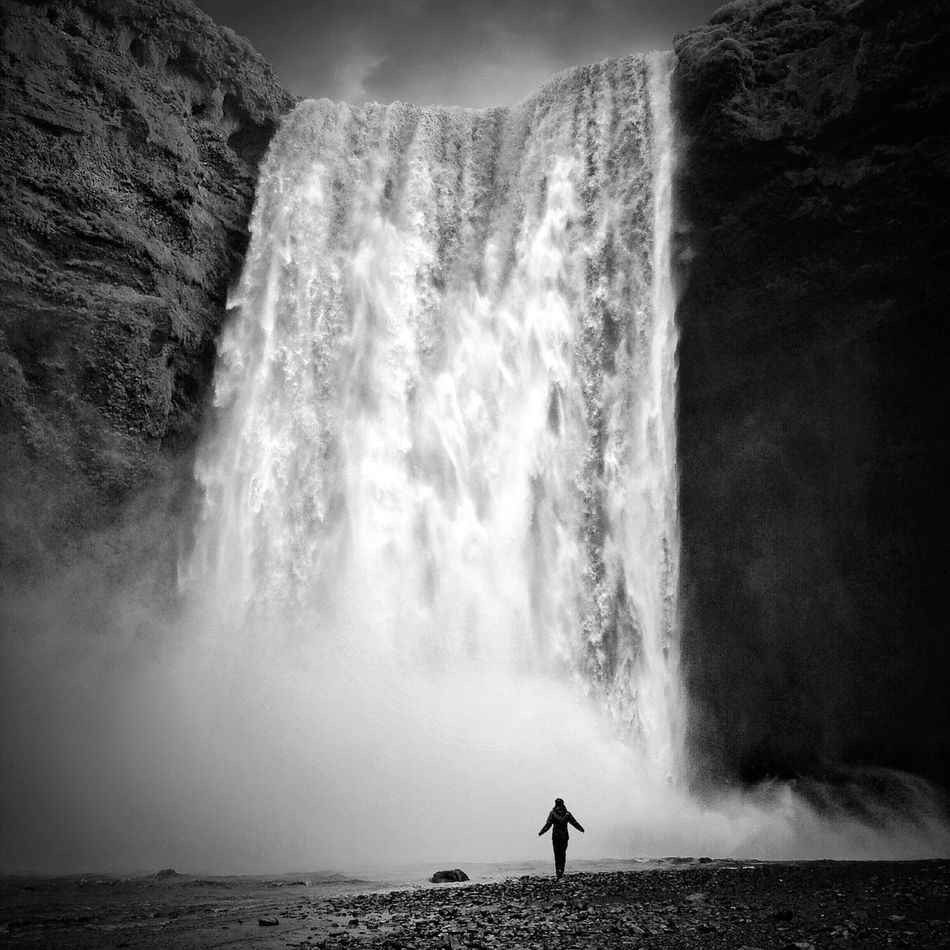 Beautiful stock photos of waterfall, Beauty In Nature, Day, Large, Leisure Activity