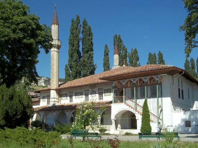 Bakhchysarai Crimea Architecture Russia Travelling Pretty Building Blue Sky