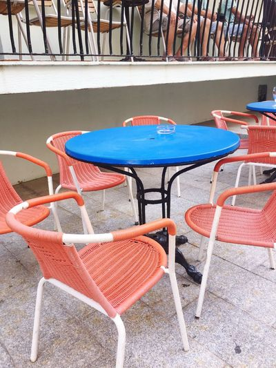 Chair Table Empty Absence Outdoor Cafe No People Seat Day Folding Chair Sidewalk Cafe Outdoors Group Of Objects Furniture Relaxation Café Nicois