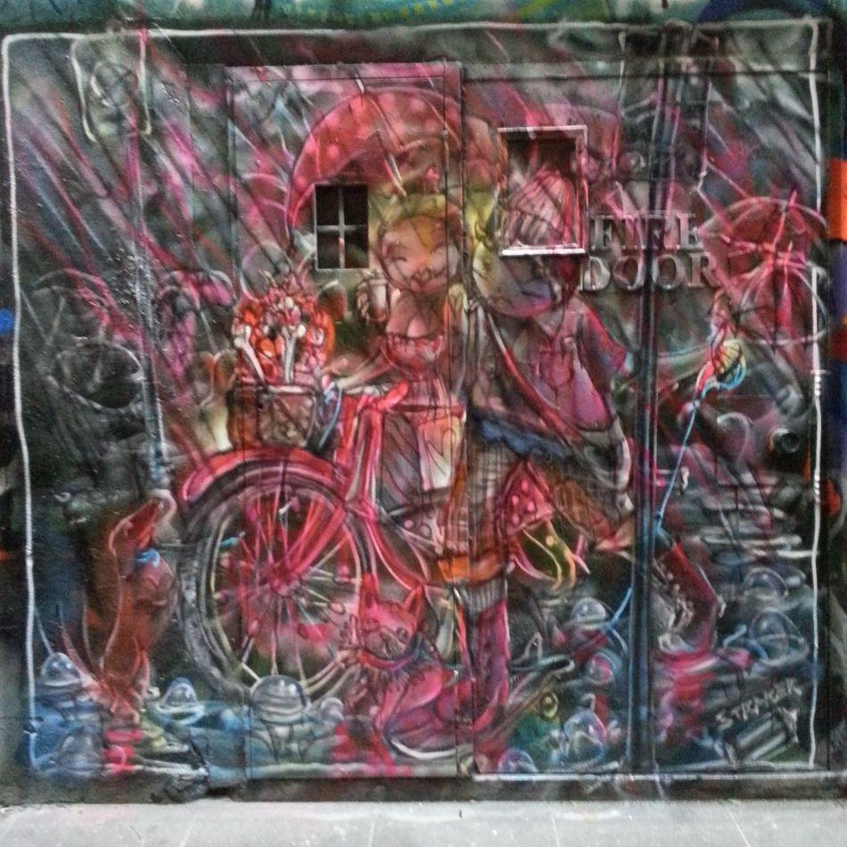 Graffiti Streetart Love Straker