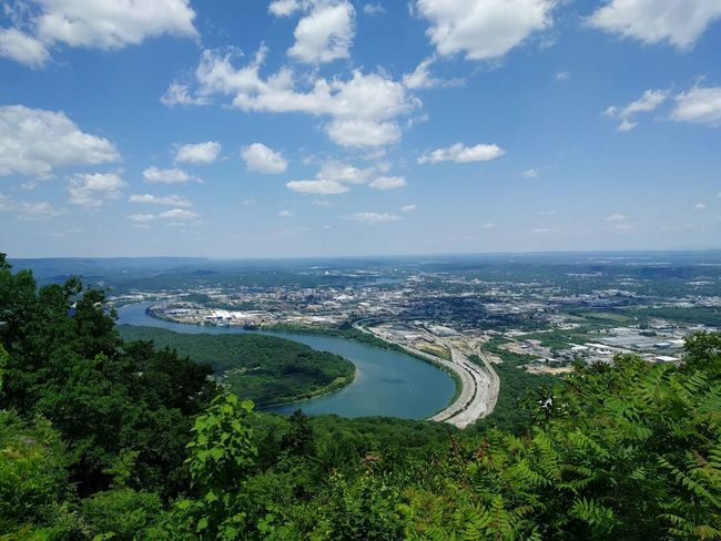 View from Lookout Mountain in Tennessee View Mountain View Tennessee Lookout Mountain River City Landscape