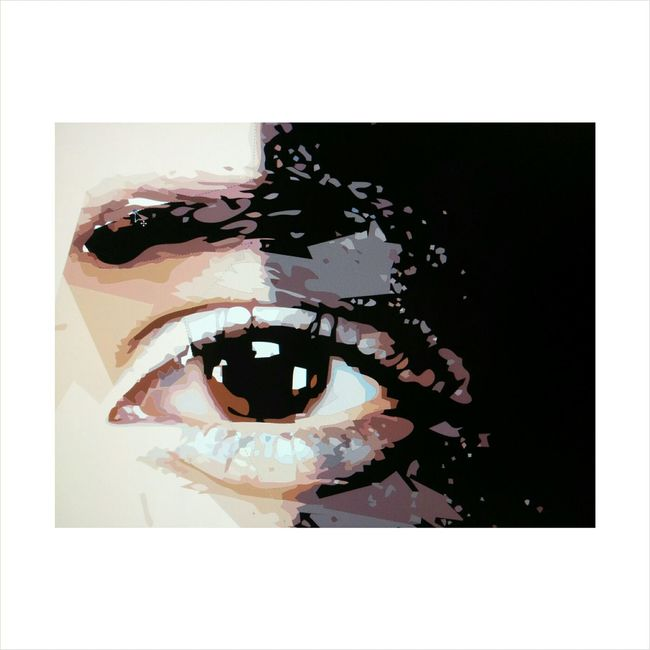Coreldraw Deepeyes EyeEm Model Shoot Shooting Particular Makeup Ariannabaronephotography Ariannabarone