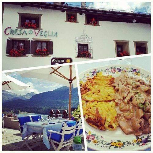 Lunch with a View ? Badrutts Palace stmoritz engadin switzerland emincédeveau foodporn