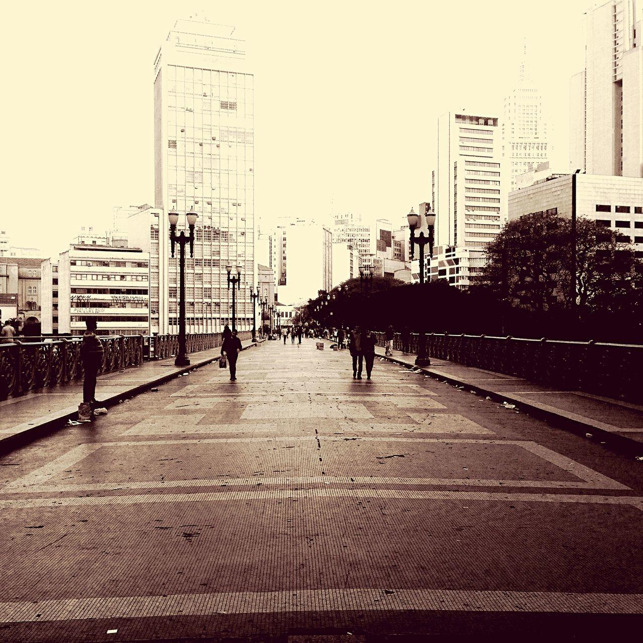 People. Walking Around Sepia São Paulo Withoutcolors Photographer Urbanphotography Taking Photos Urban Bridge