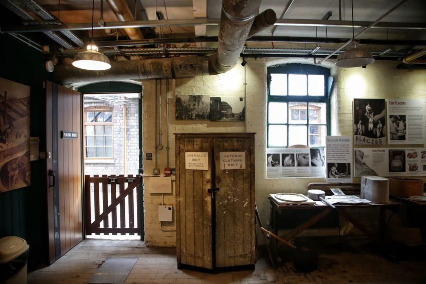 Middleport Pottery Abandoned Architecture Built Structure Day Indoors  Middleport Pottery No People Wood - Material