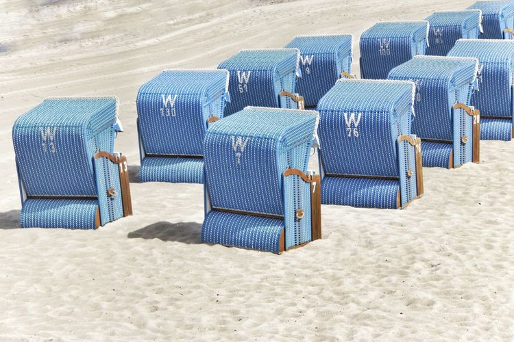 EyeEm Selects Beach Sand Shore Sea Blue Nature Day Outdoors Desert Summer Vacations No People Sand Dune Sand Pail And Shovel Beach Volleyball Kühlungsborn Baltic Sea Beach Chairs Beach Chair Travel Destinations Vacations Tranquil Scene