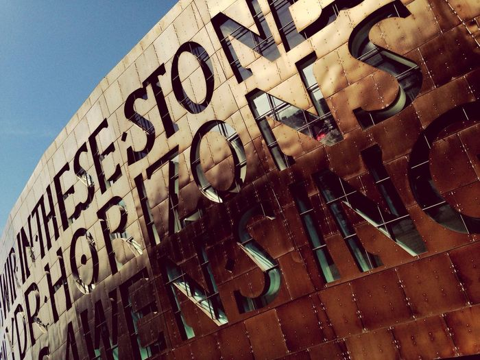 Day out at Cardiff Bay Millennium Centre Sunny Architecture Wales Bronze Welsh Architecturelovers