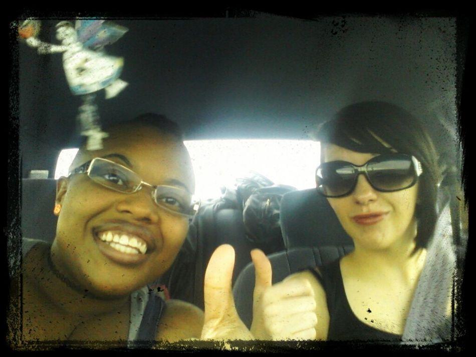 Hanging Out Friends Driving Roadtrip Best Friends