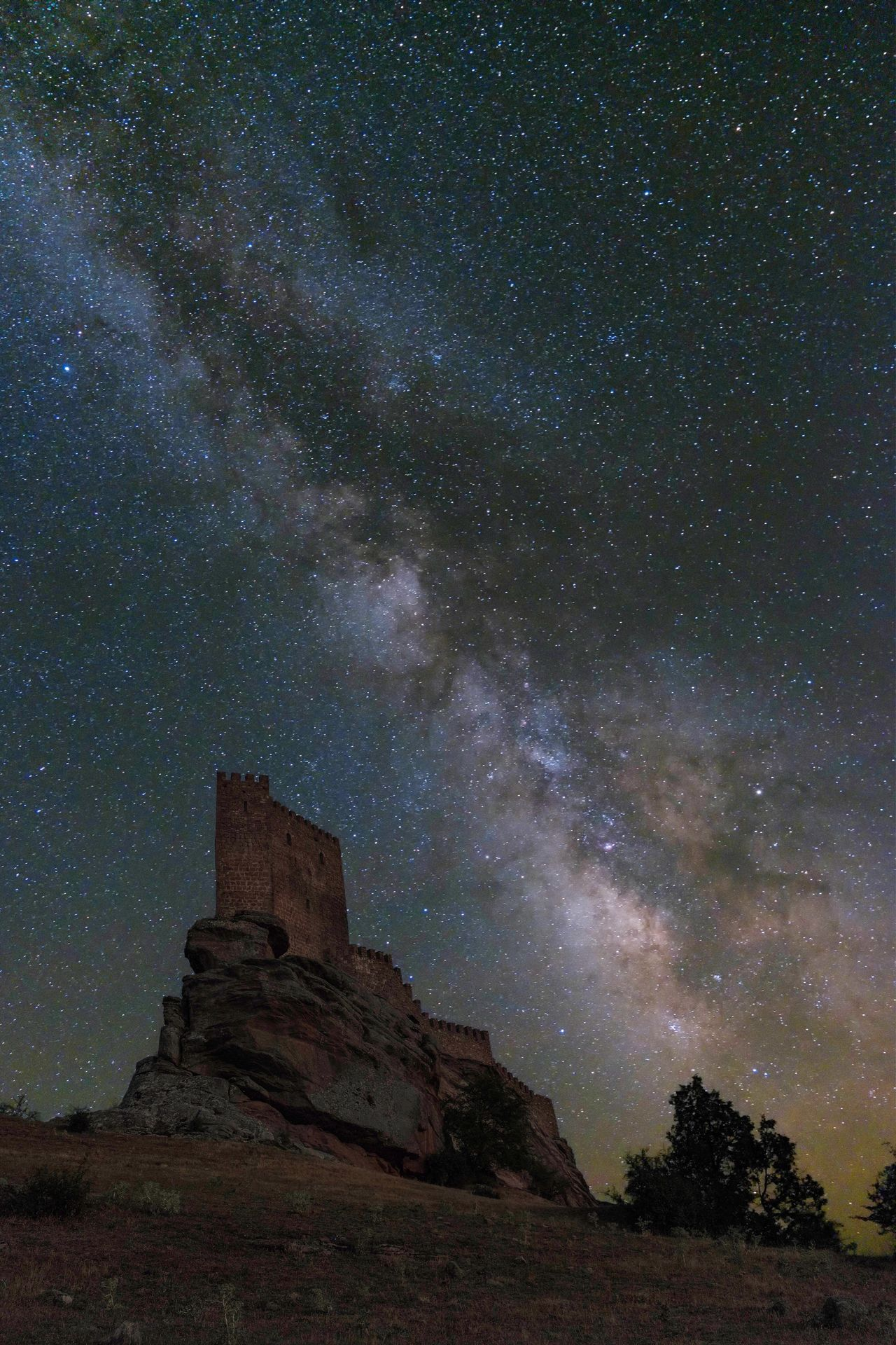 Star - Space Night Astronomy Milky Way Galaxy Low Angle View Sky Constellation No People Nature Outdoors Beauty In Nature Architecture Space SPAIN Guadalajara Castillo De Zafra Game Of Thrones Escensrio Summer
