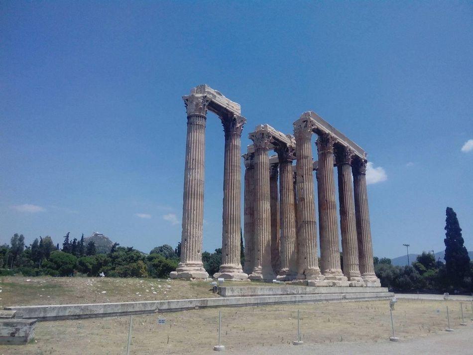 Beautiful stock photos of athens, Ancient, Ancient Civilization, Architectural Column, Architecture