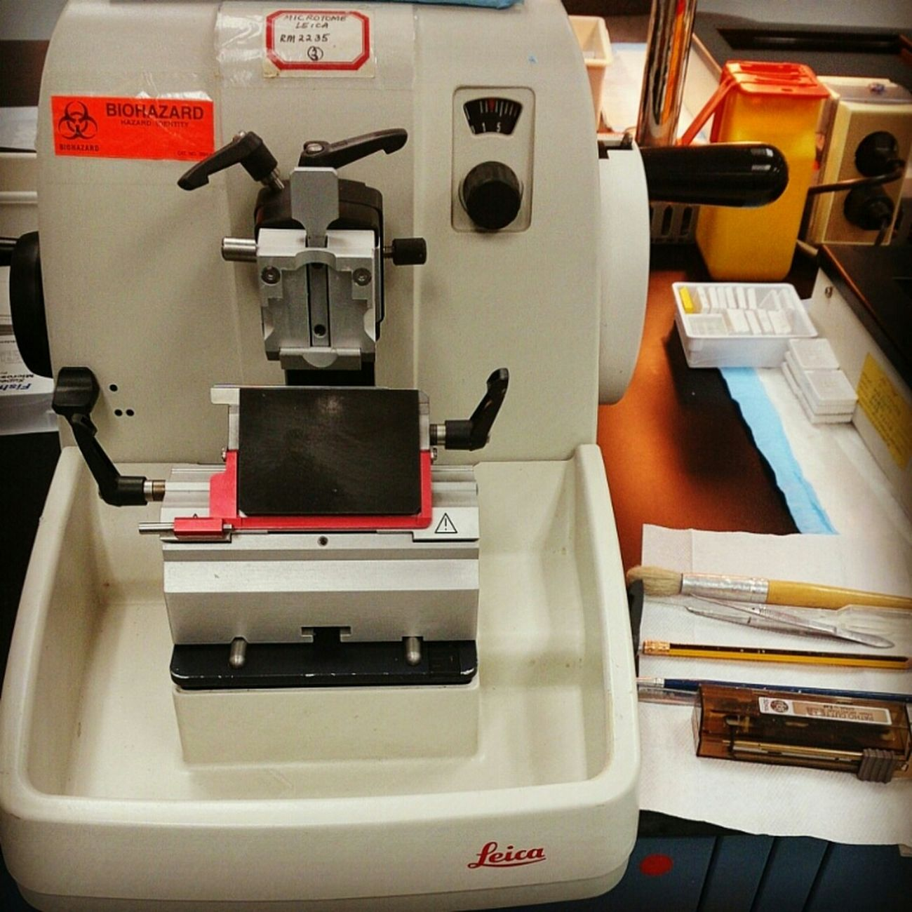 my everyday companion Microtome Histopathology Ofw