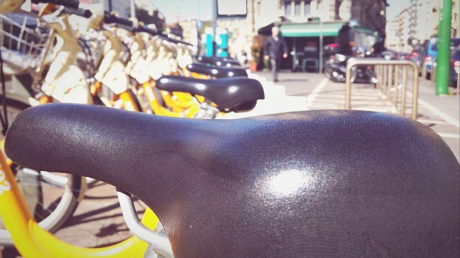 Go Green Bicycles Area C Antipollution Milan Italy Milano