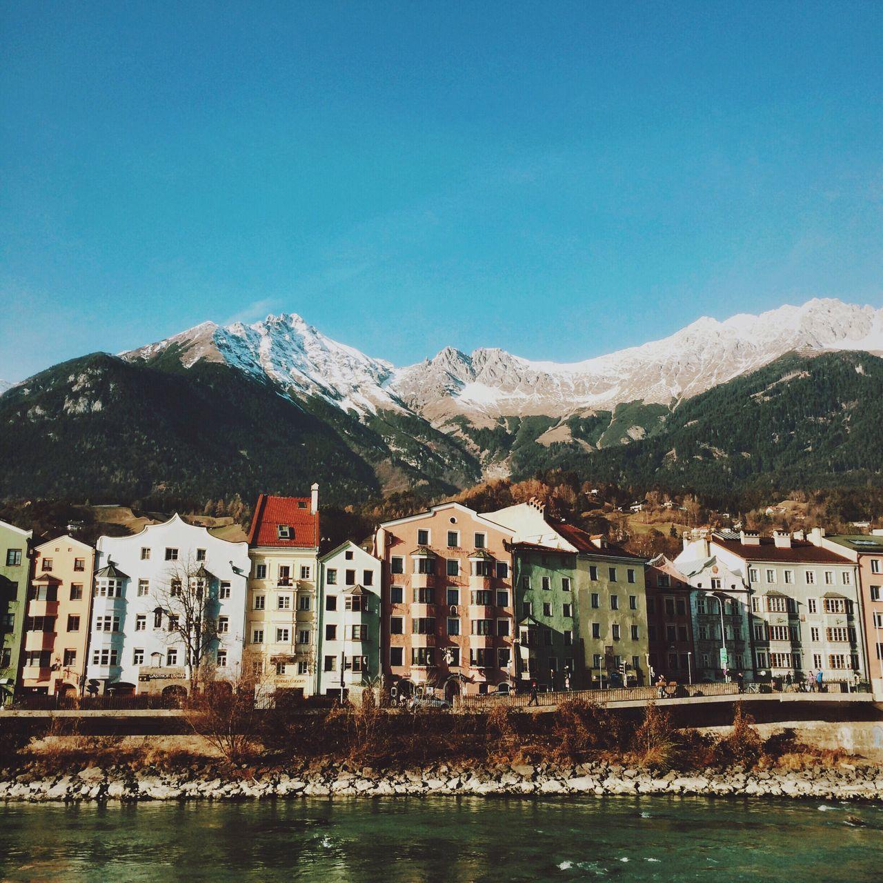 Innsbruck. Innsbruck Austria My Winter Favorites IPhoneography Showcase: December The Week Of Eyeem Eye4photography  Alpen EyeEm Best Shots Mountains And Sky Alps Enjoying The View
