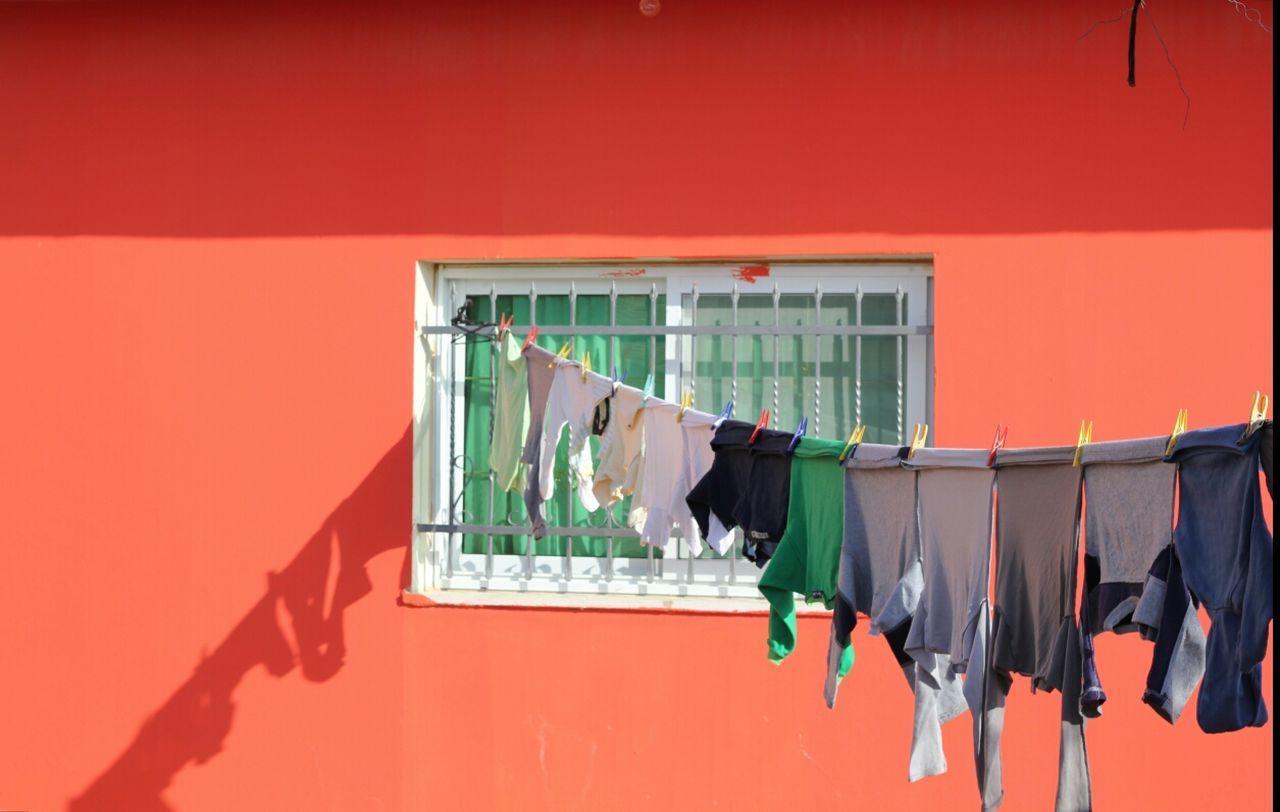 Beautiful stock photos of orange, Architecture, Built Structure, Clothes Line, Clothes Peg
