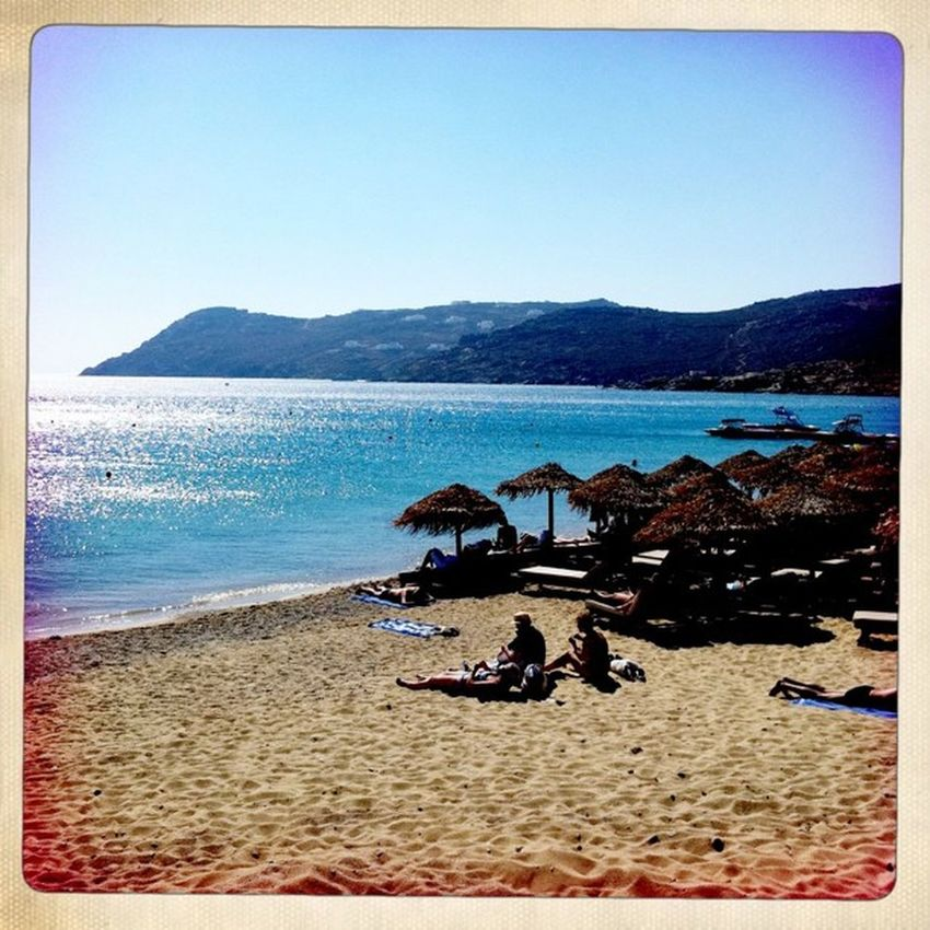 Mykonos Beach Summer Instadaily bestoftoday ignation plage
