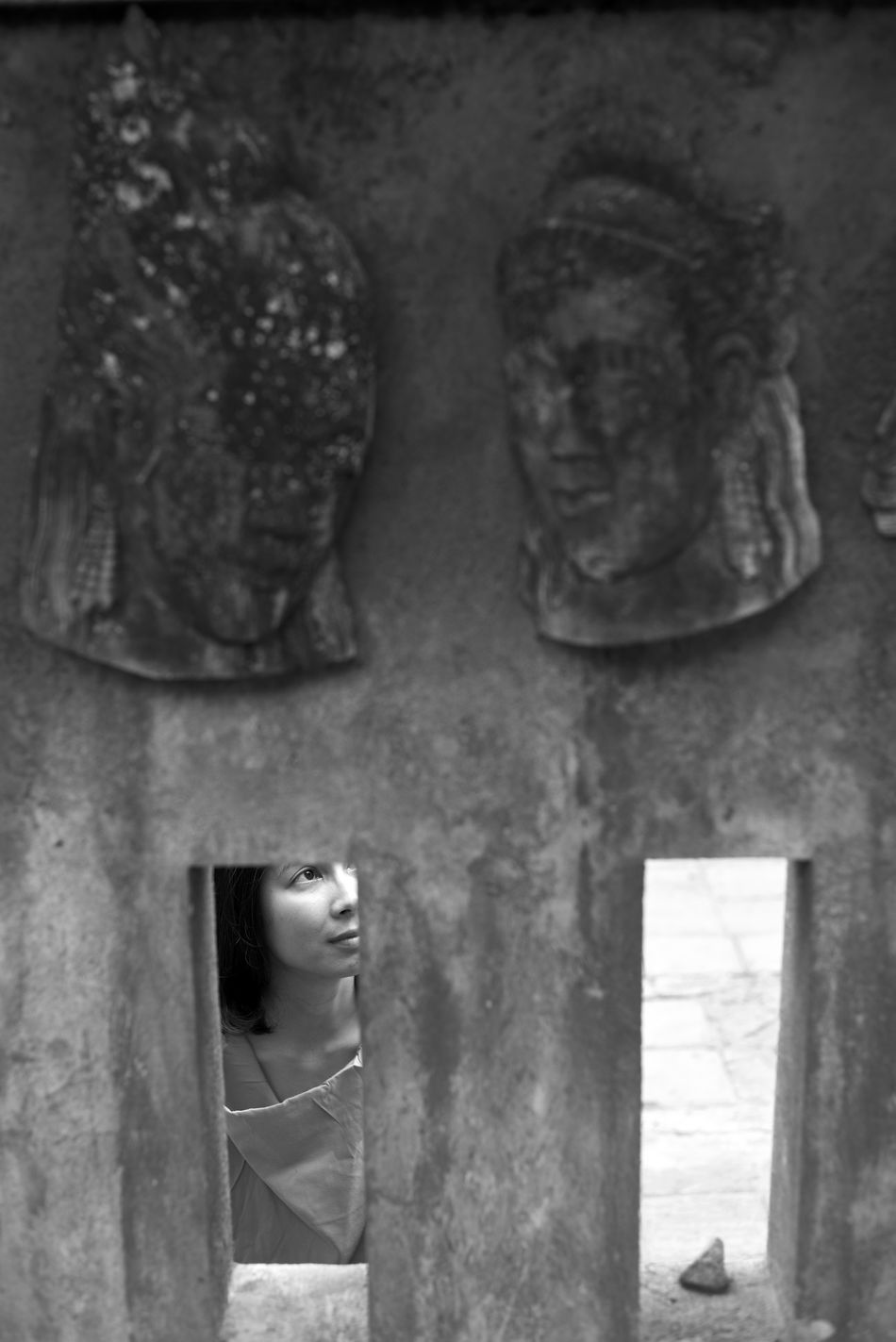 Asian  Bali Bali, Indonesia Black And White Portrait Fine Art Photography Framed INDONESIA Indonesia_photography Natural Light Portrait Nikonphotography Portrait Of A Woman Sculpture Ubud Ubud, Bali Water Woman Of EyeEm Woman Portrait Woman Who Inspire You