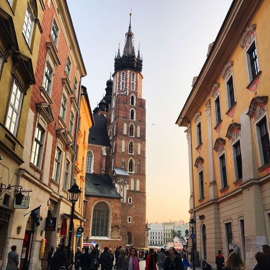 Architecture Building Exterior City Krakow Sunnyday☀️ Poland