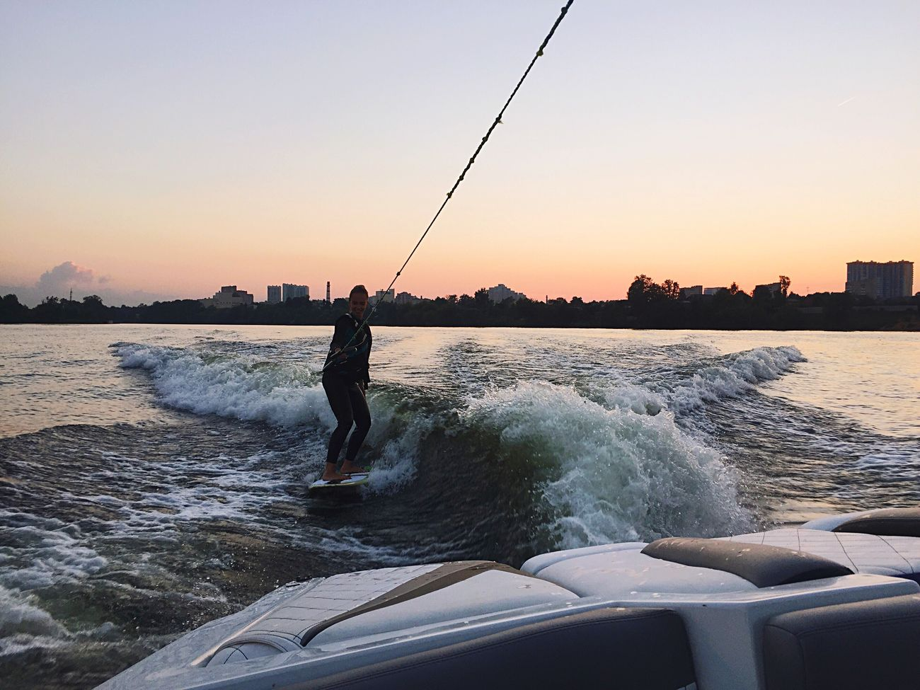 Missing those summer days Russia Moscow Wakesurfing Summer Russian Girl EyeEmNewHere Friends Lifestyles Sport Sports Photography