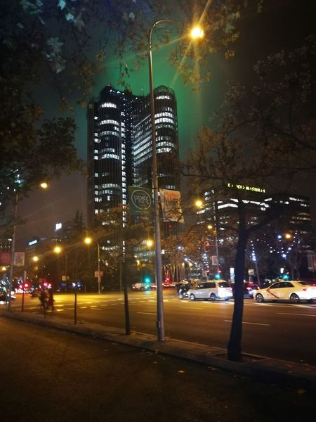 #madrid Nightlife Tree