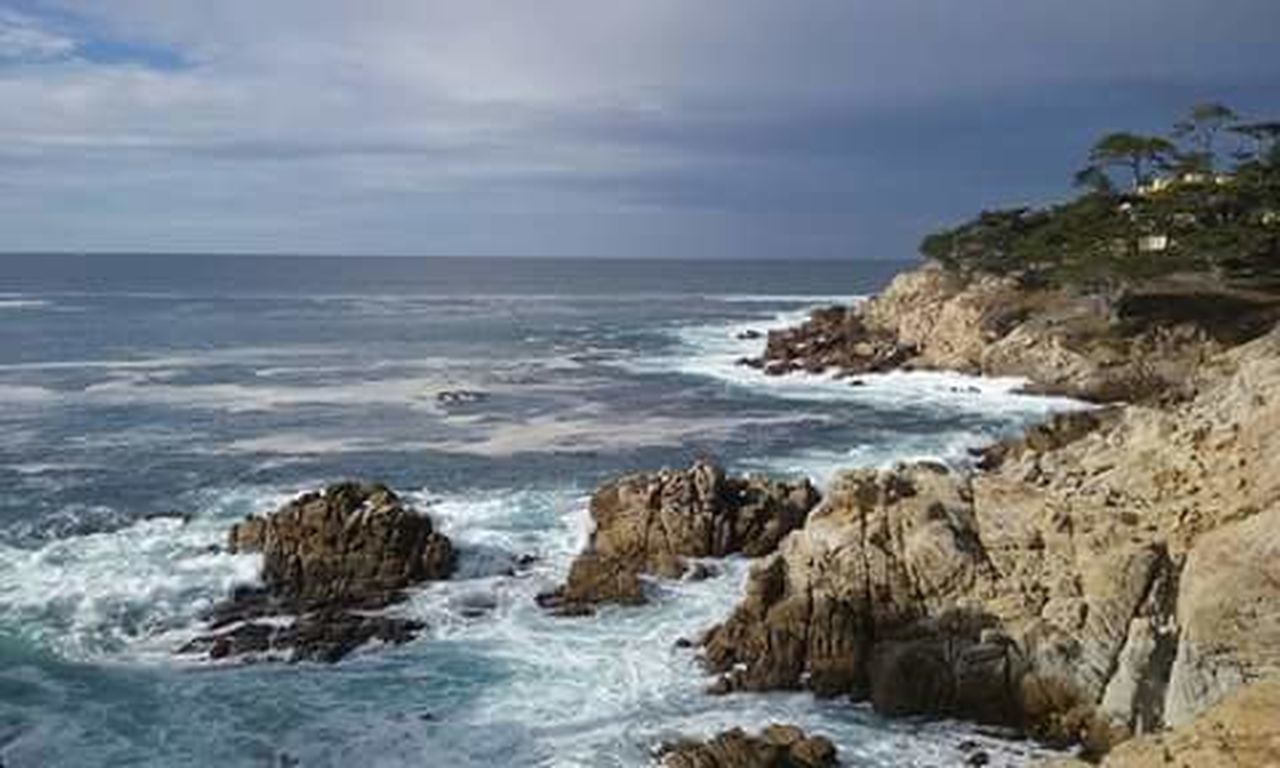 Rocks And Water Outdoor Photography Nature Photography Waves, Ocean, Nature Clouds Sky Blue Nature Loving Life! Carmel California 20miledrive Cliffs Rocks Blue Wave