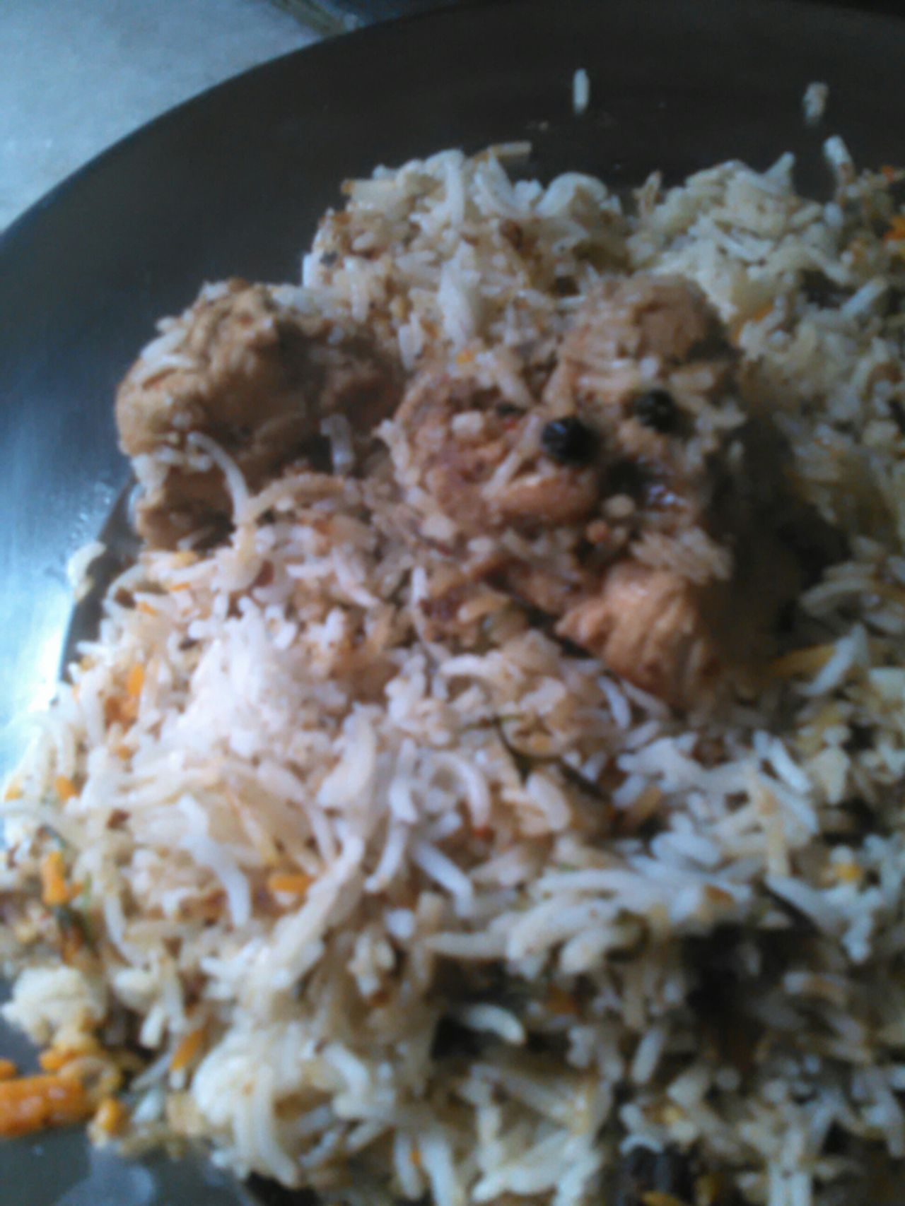 Yummy chicken biryani in plate Chicken Biryani Chicken Biryani In Plate Yummy Non Veg Food Porn Awards