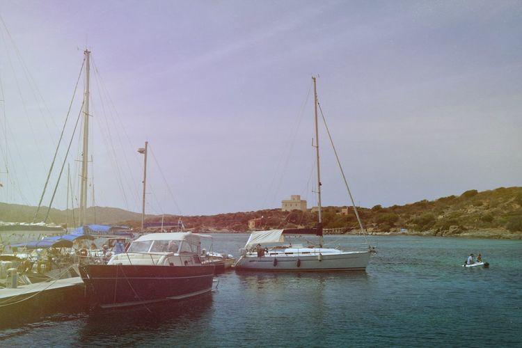 Sardegna Boats Sunmer2015 Sunrise