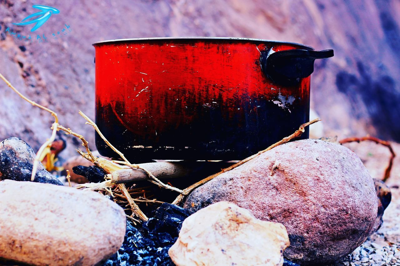 no people, close-up, burning, outdoors, heat - temperature, red, day, freshness, nature