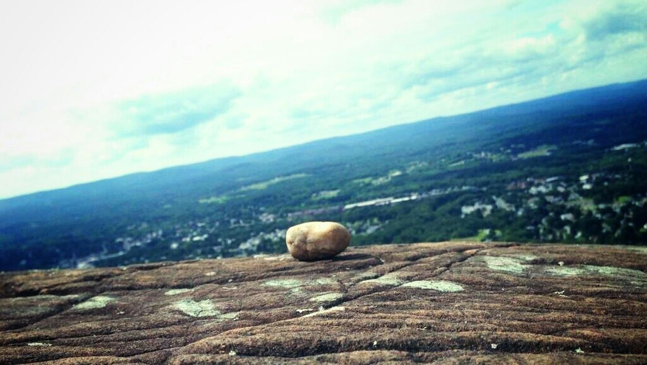 You carry the stone to the top, and you leave it there ..with all your worries and stress. A part of you and I will always be there.. at the top. Landscape_photography Beautiful Nature Girlsthathike Naturelover Howigethigh Mountain View
