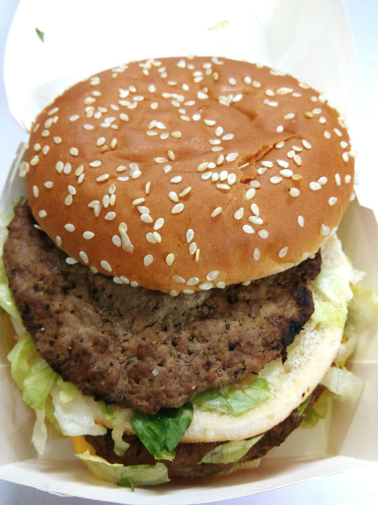 Unhealthy Eating Burger Sesame Hamburger Close-up Freshness Sesame Seed Fast Food No People Bun Food Seed Indoors  Ready-to-eat Day
