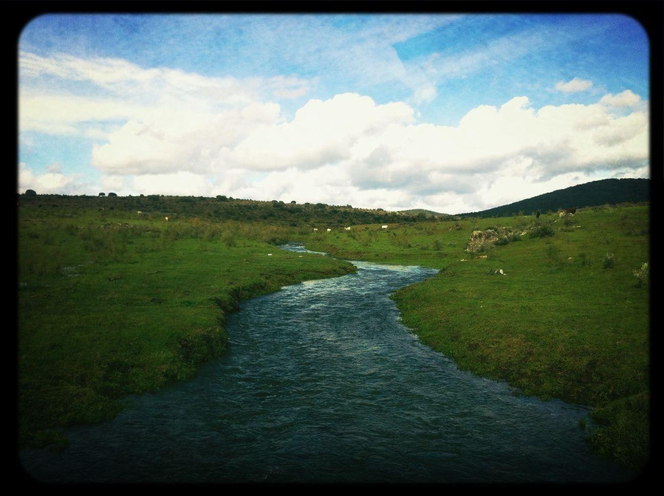 Landscape Winter Stream VivirExtremadura